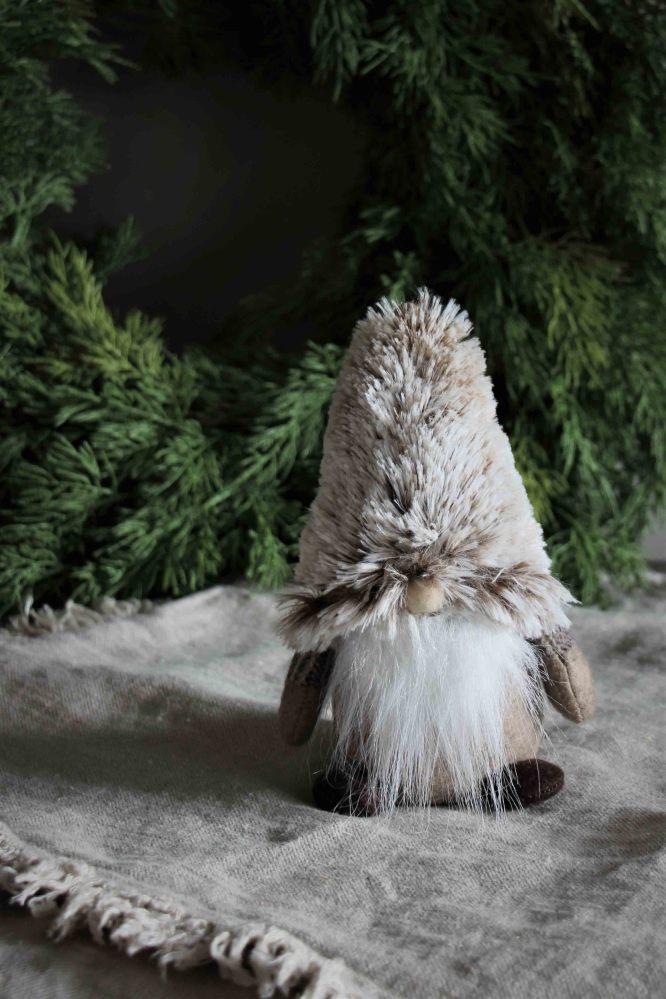 Tomte Santa Tiny, 16cm - Majas lyktor/ Barncancerfonden