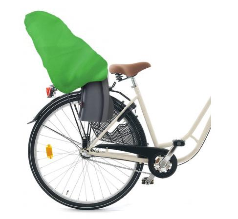 Torris - smidigt skydd till cykelbarnsitsen (Grön) • Pryloteket