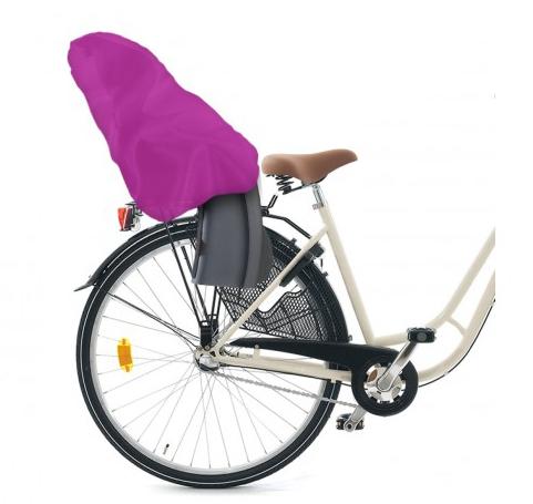Torris - smidigt skydd till cykelbarnsitsen (Rosa) • Pryloteket