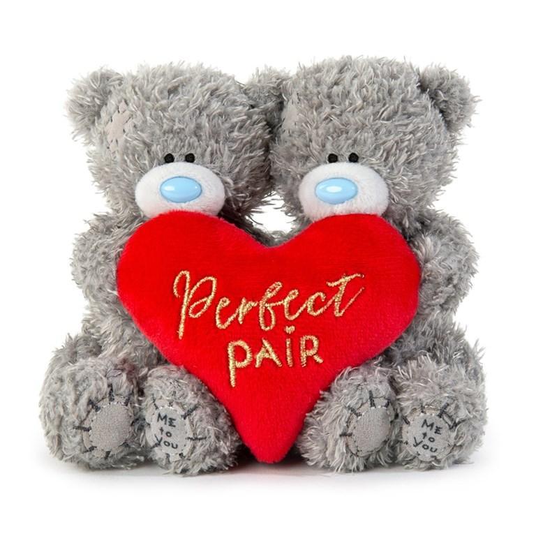 "Nallepar ""Perfect Pair"" , 10cm - Me to you • Pryloteket"