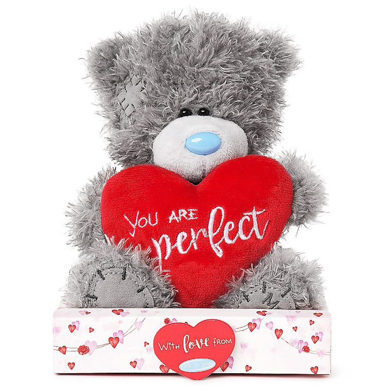 "Nalle ""You are perfect"", 15cm - Me to you (Miranda nalle) • Pryloteket"