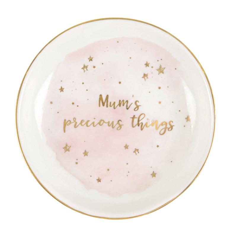 """Keramikfat """"Mum's precious things"""" • Pryloteket"""