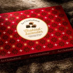 Adventskalender med choklad från Åre Chokladfabrik • Pryloteket