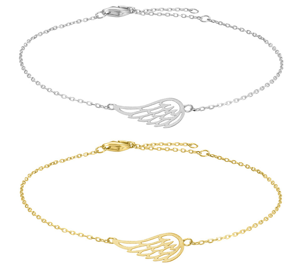 Armband Fly Angel wing - Nordahl Jewellery (Silver) • Pryloteket
