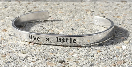 "Armband ""Live a little"" - Littlebit Design"