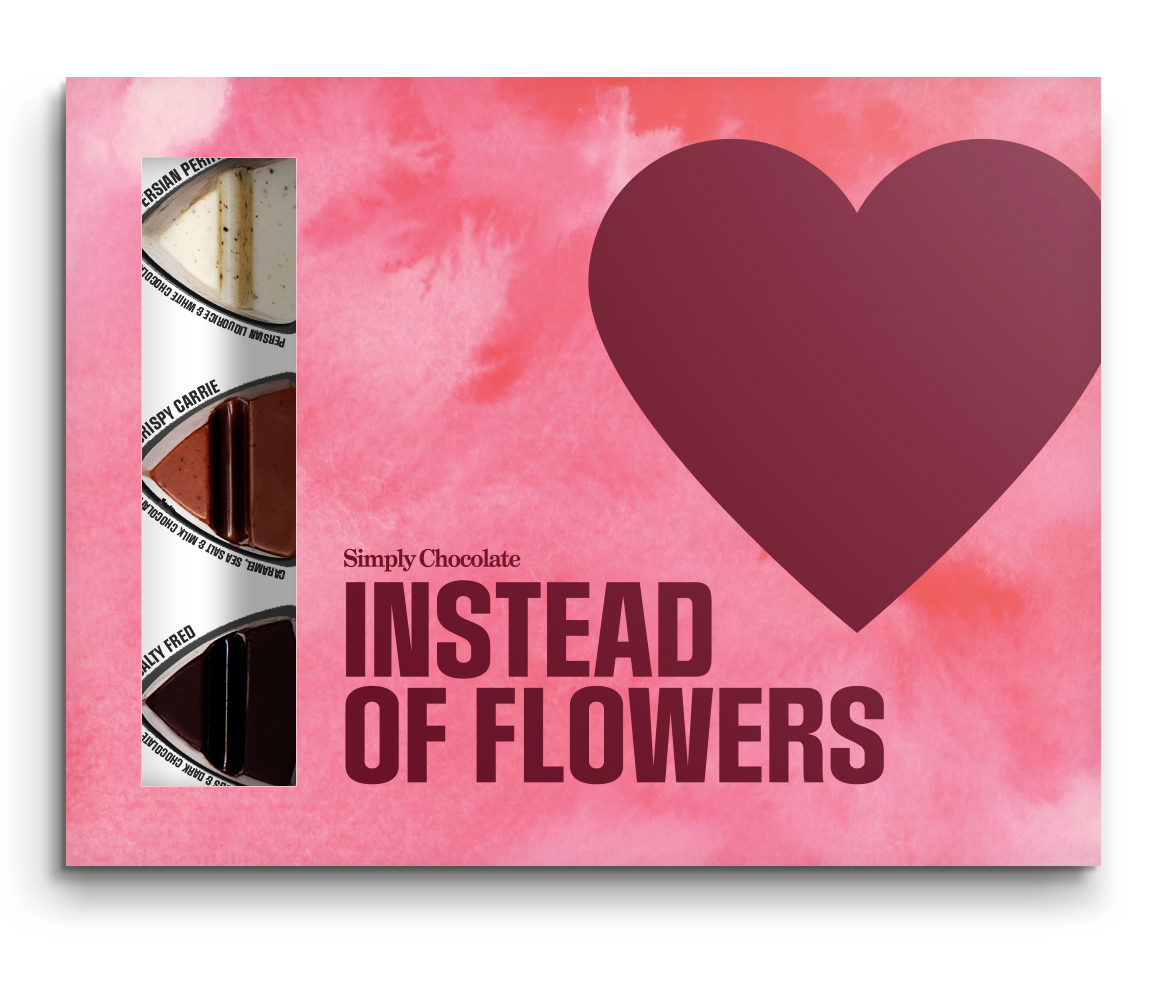 Instead of flowers - Premium chokladpraliner • Pryloteket