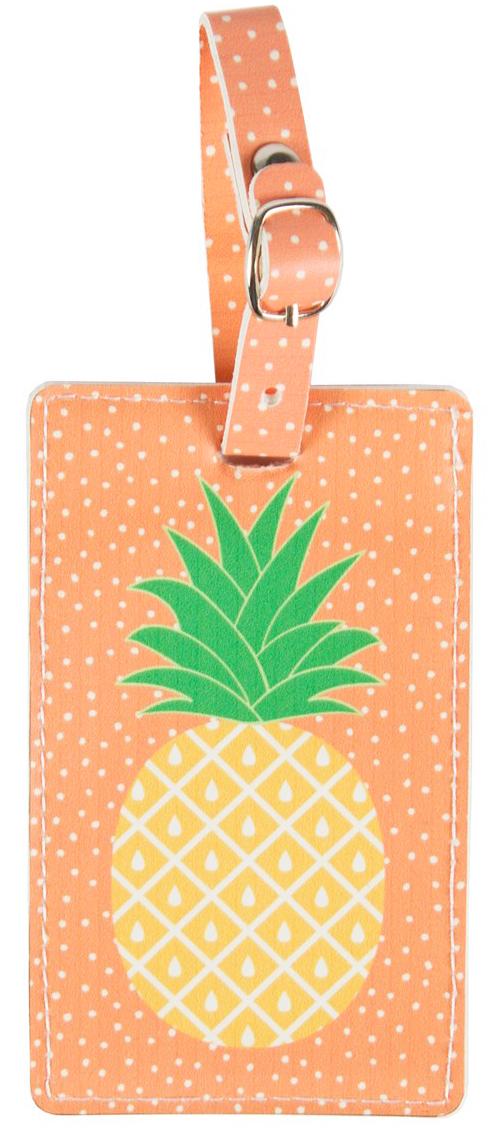 Bagagetag Ananas