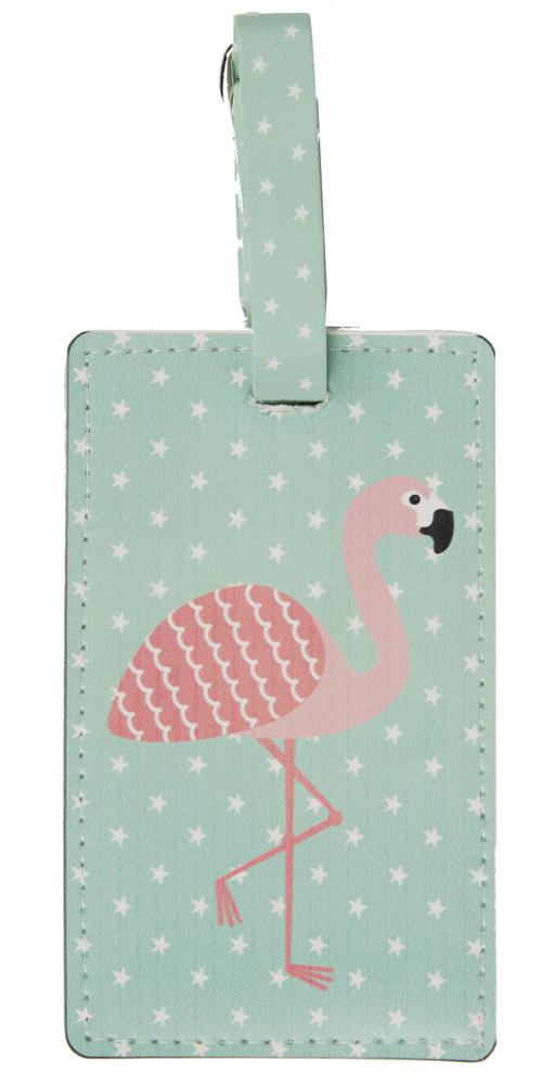 Bagagetag Flamingo • Pryloteket