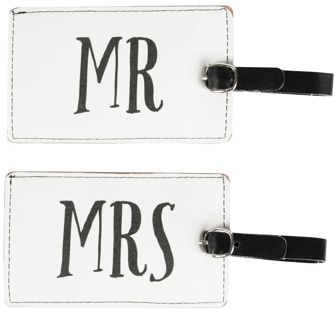 Bagagetag Mr & Mrs (Mr) • Pryloteket
