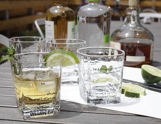 Glas för en bartender (låga) - 4-pack • Pryloteket