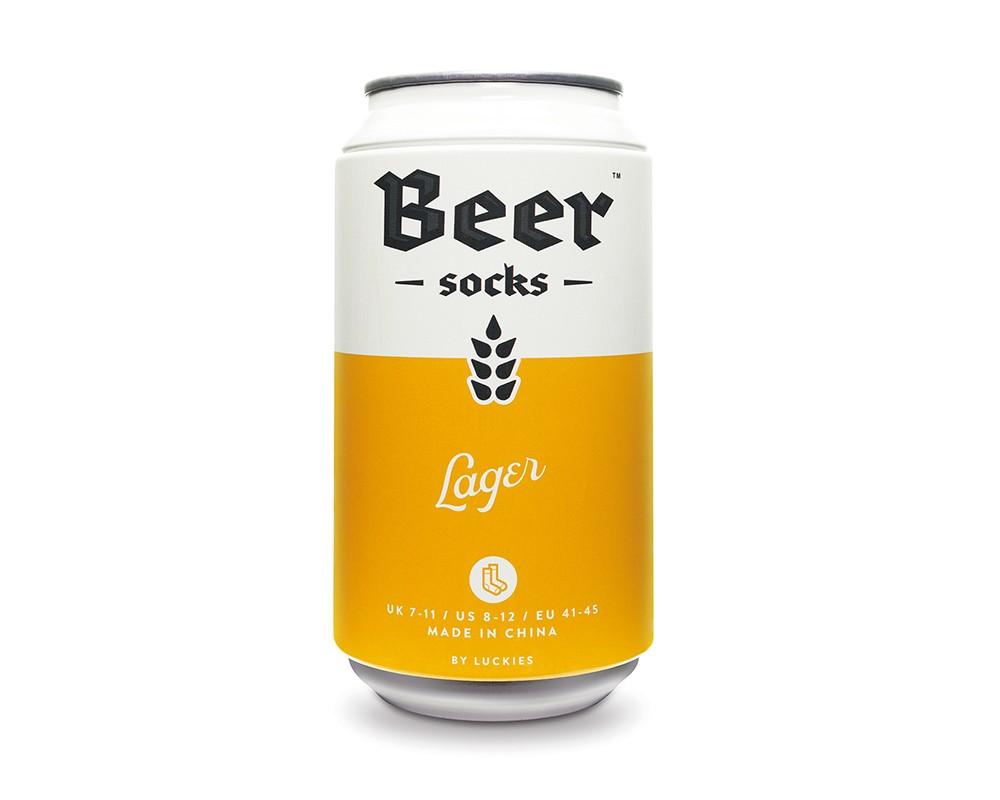 Beer Socks - Ölburk med sockar