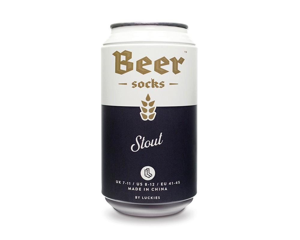 Beer Socks - Ölburk med sockar (Stout (Svart)) • Pryloteket