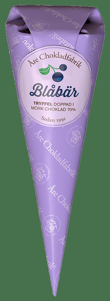 Blåbärstryffel - Choklad från Åre Chokladfabrik