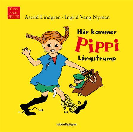 Bok Här kommer Pippi Långstrump • Pryloteket