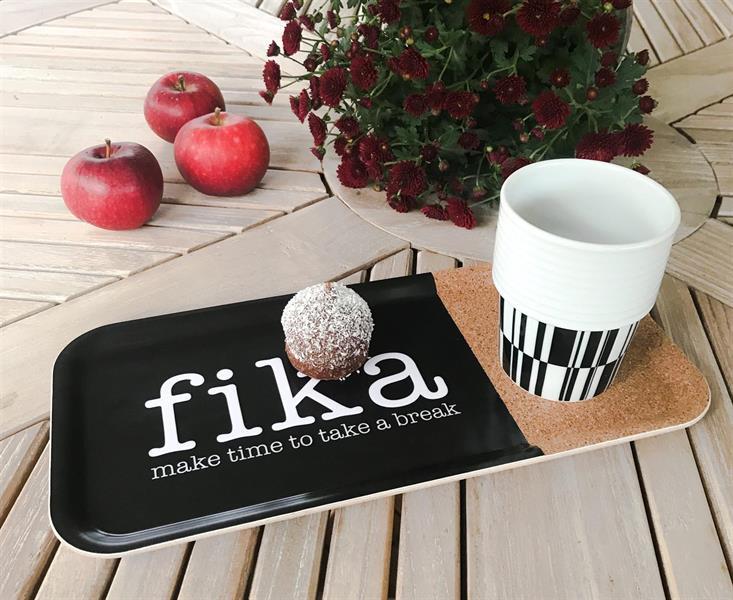 """Bricka """"Fika - Make time"""