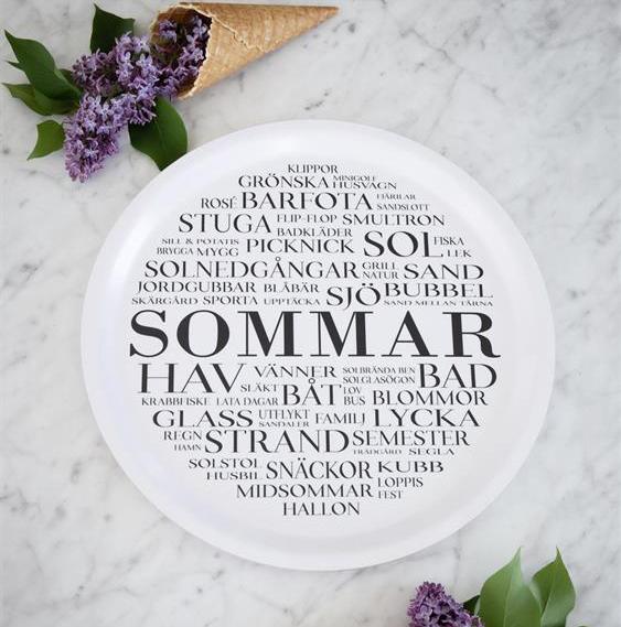 """Bricka """"Sommar"""""""