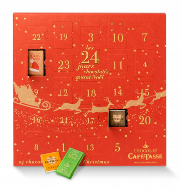 Chokladkalender - Café Tasse • Pryloteket