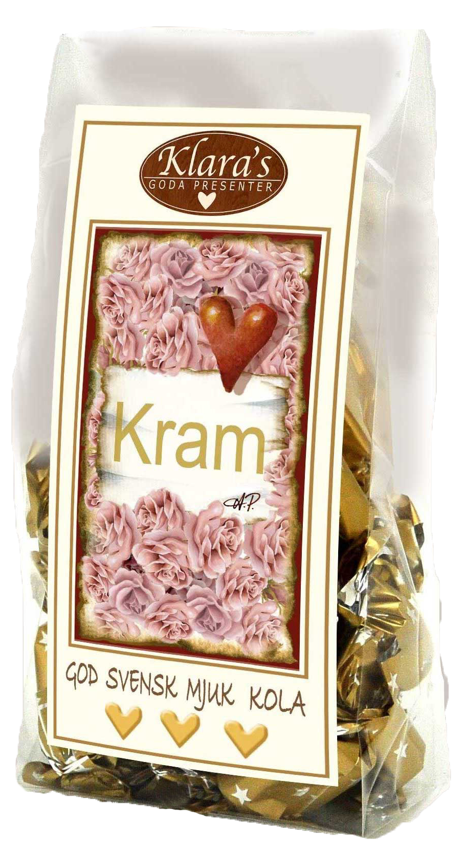 Kram - Mjuka chokladkolor • Pryloteket