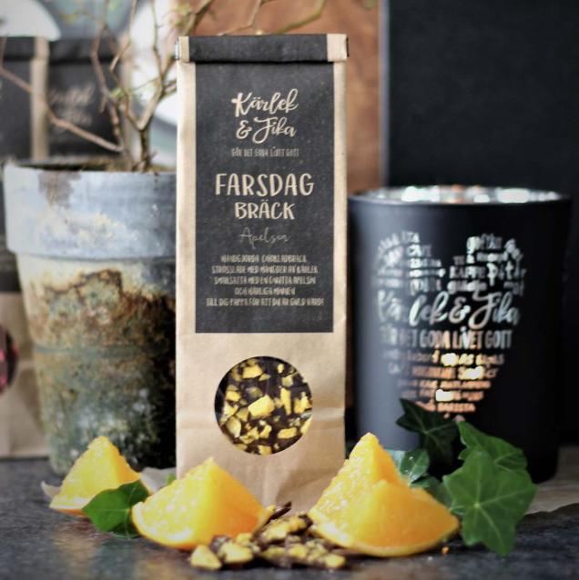 Chokladbräck Fars Dag - Majas lyktor/Barncancerfonden