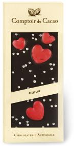 Mörk Chokladkaka med hjärtan