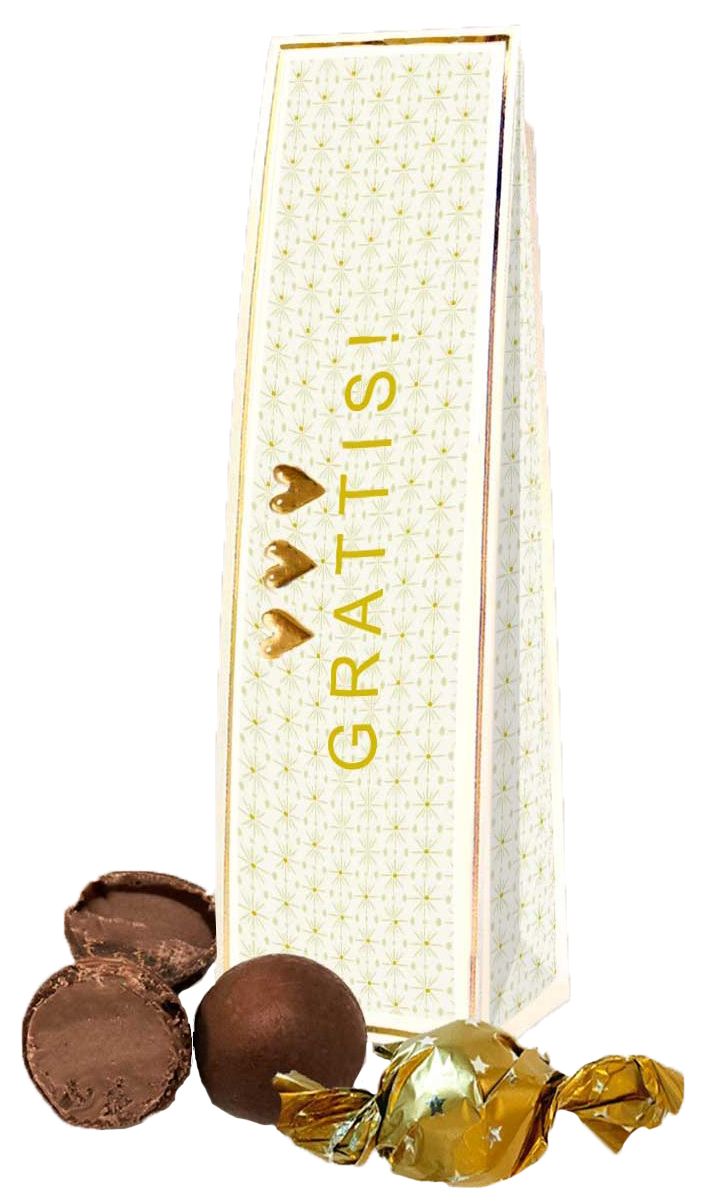 Chokladhälsning Grattis • Pryloteket