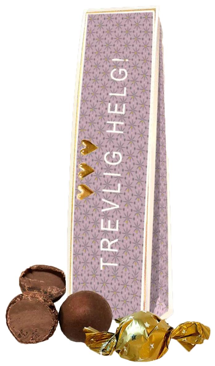 Chokladhälsning Trevlig Helg • Pryloteket
