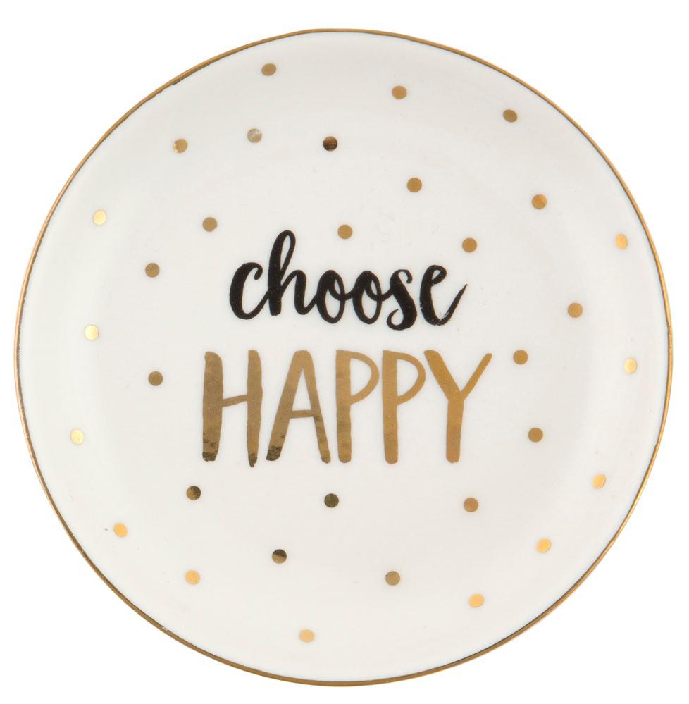 "Keramikfat ""Choose Happy"" • Pryloteket"