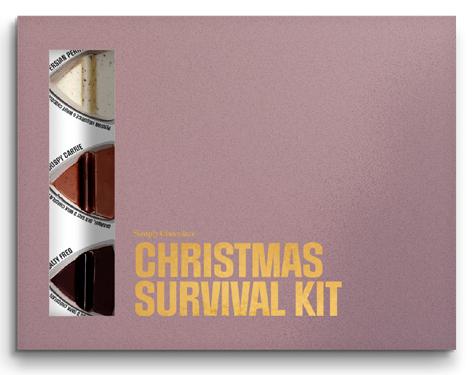 Christmas Survival Kit - Premium chokladpraliner från Simply Chocolate • Pryloteket