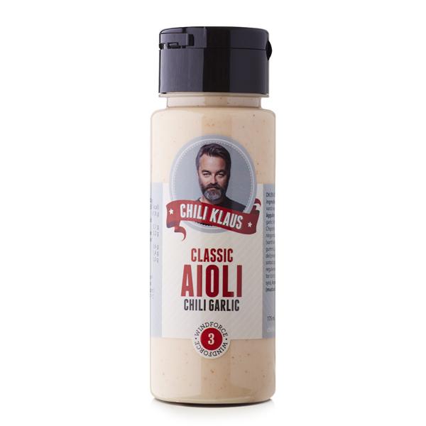 Classic Aioli Chili Garlic (vindstyrka 3) - Chili Klaus • Pryloteket