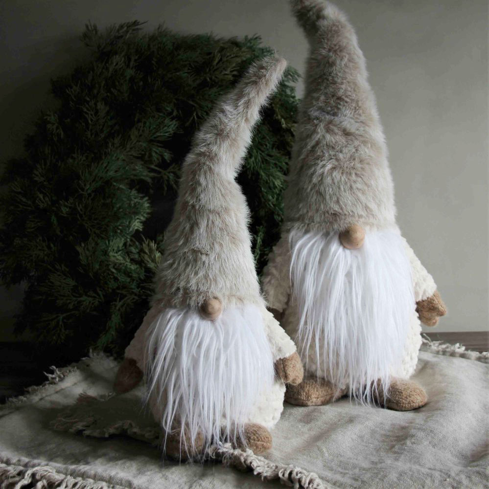 Cozy Santa - Majas lyktor/ Barncancerfonden (Jolly, 44cm)