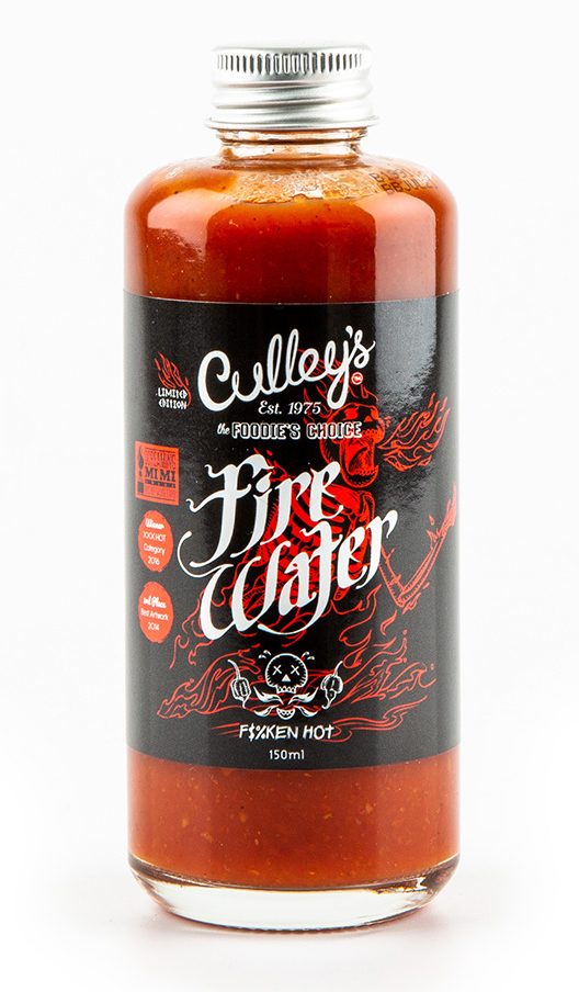 Culley's Fire Water - en riktigt HET sås