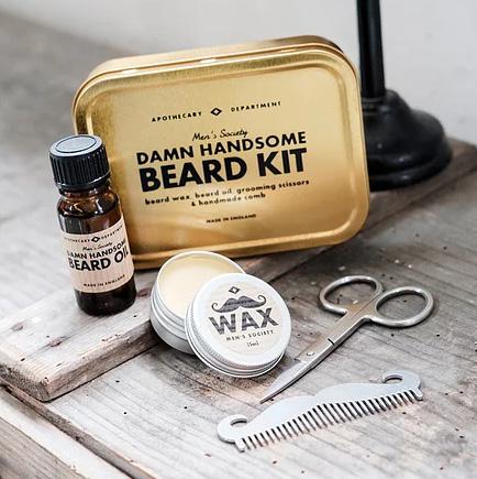 Damn Handsome Beard Kit (Skägg-kit) • Pryloteket
