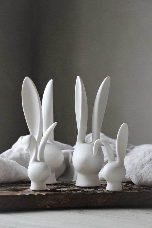 Dekor Bunny - Majas lyktor/ Barncancerfonden
