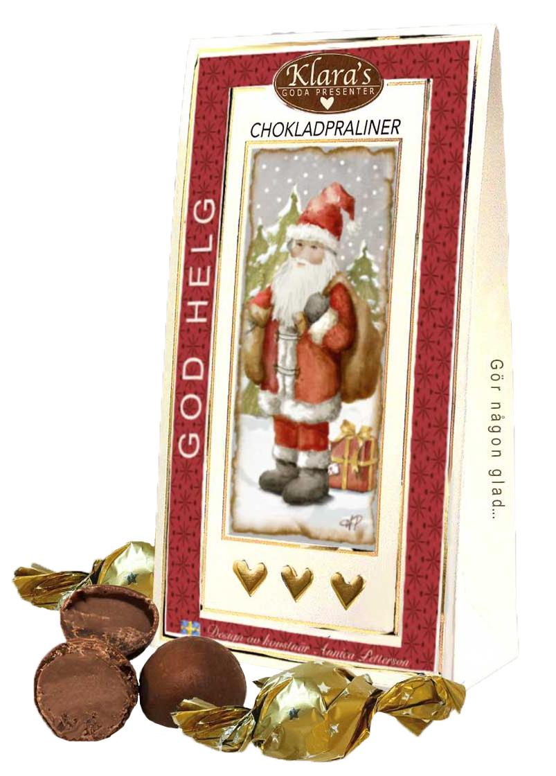 God Jul chokladpraliner, Tomtemotiv • Pryloteket