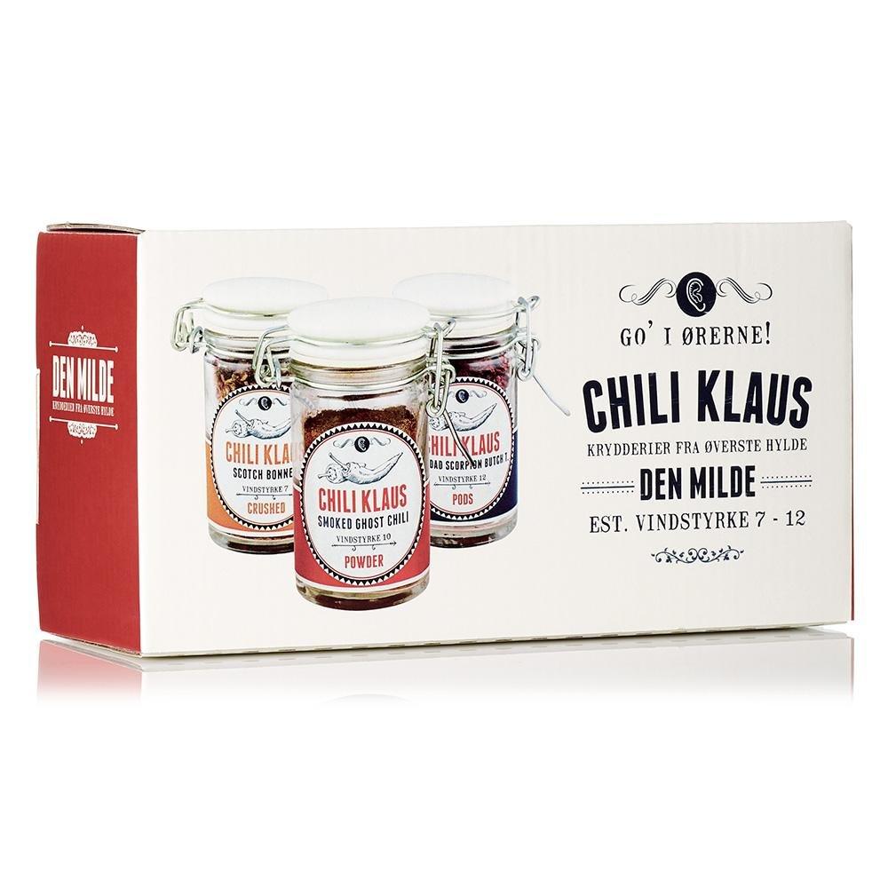 Det milda gåvosetet - Chili Klaus • Pryloteket
