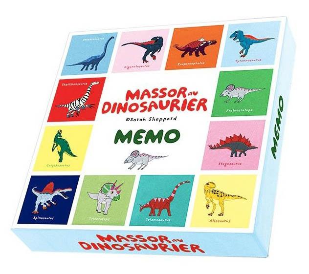 Dinosaurier Memoryspel