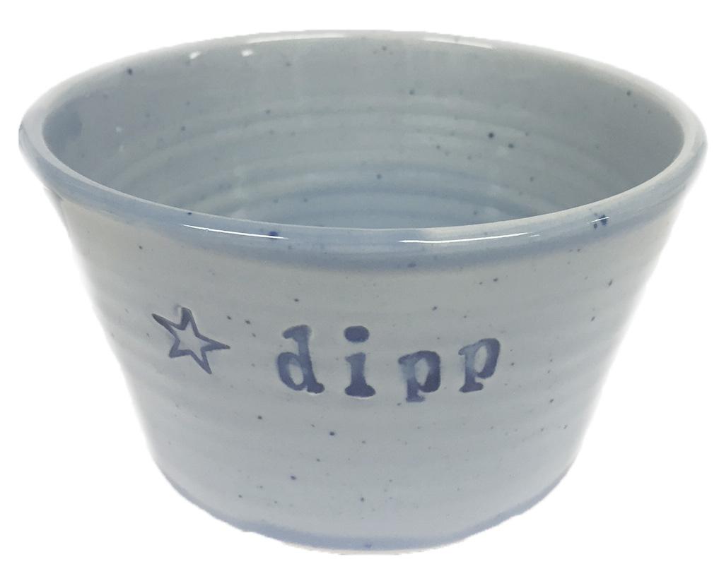 Skål Dipp - Puss Puss Company (Blå) • Pryloteket