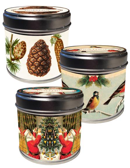 Doftljus Jul - Vintage Collection (Kottar (vanilj)) • Pryloteket