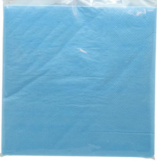 Servetter ljusblå, 20p