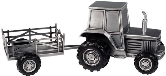 Sparbössa Traktor med vagn • Pryloteket