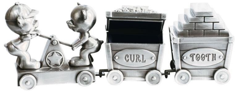 Dressin med Nallar och vagnar, Curl, Tooth • Pryloteket
