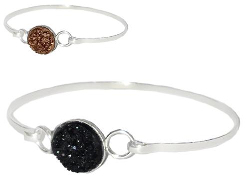 Armband Druzzy - Littlebit Design (Roséguld stl L) • Pryloteket