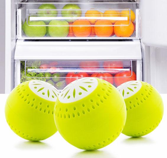 Luktborttagare för kylskåp (3-pack)