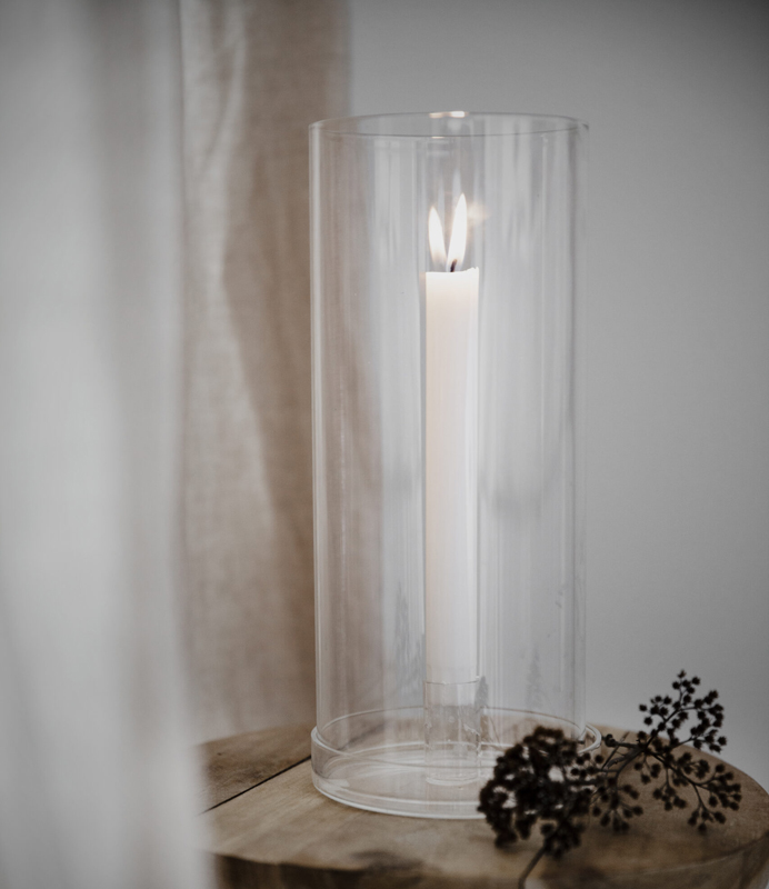 Glasljusstake för kronljus - Ernst Kirchsteiger