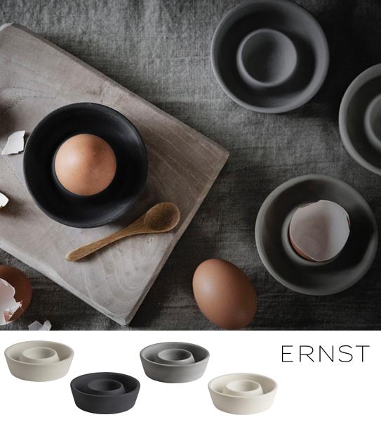 Äggkopp Stengods - Ernst Kirchsteiger (Mörkgrå)
