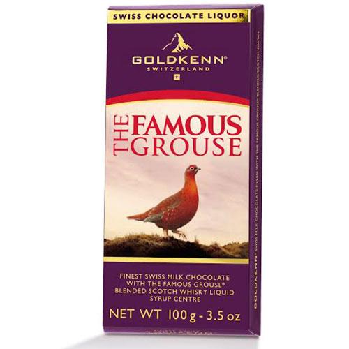 Famous Grouse - likörfylld choklad • Pryloteket