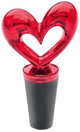 Flaskpropp Hjärta (Susi) - Koziol