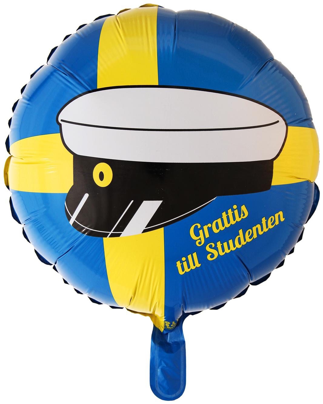 Folieballong Student • Pryloteket