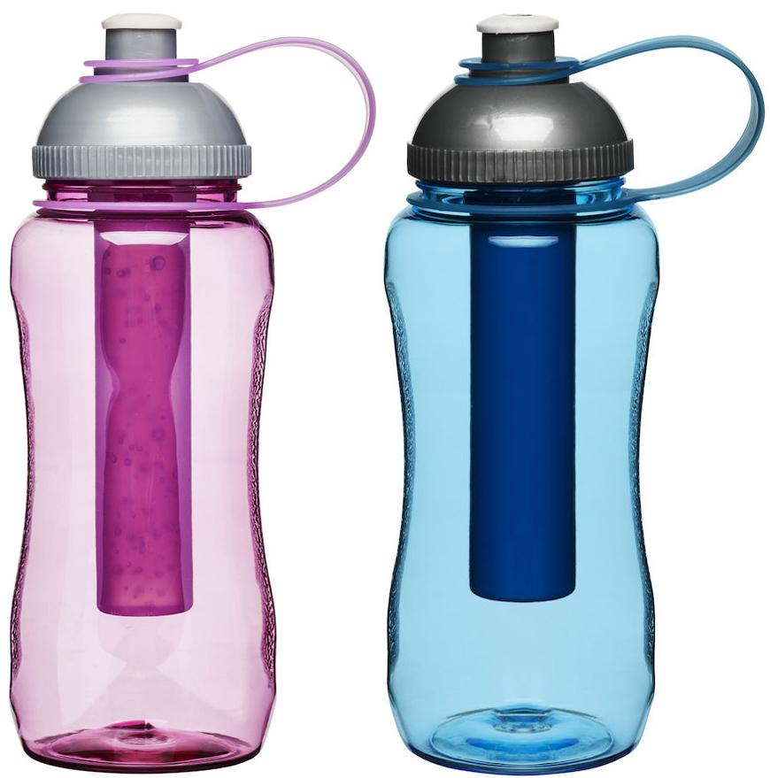 Flaska med iskolv - Sagaform (Rosa) • Pryloteket