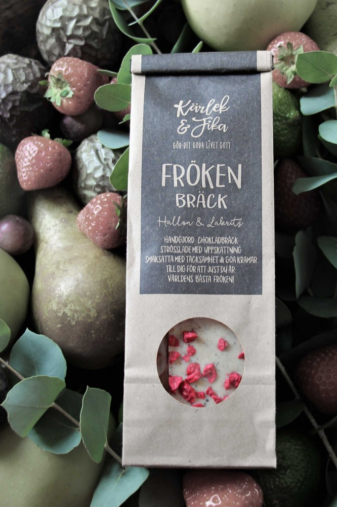 Chokladbräck Fröken - Majas lyktor/Barncancerfonden • Pryloteket